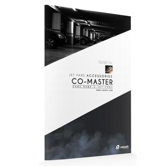 Central detección monóxido CO-MASTER