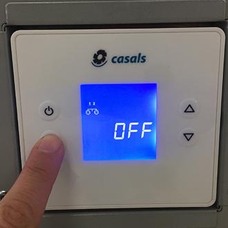 Configuración del control integrado REG REINTAIR para usar el purificador